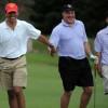 Obama Golfs While Americans Job-Seek
