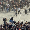 Clashes between pro-Mubarak and anti-Mubarak in Tahrir Square © Image: Hammer of Truth