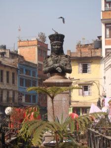 Bust of Maharani Chandra in Patan